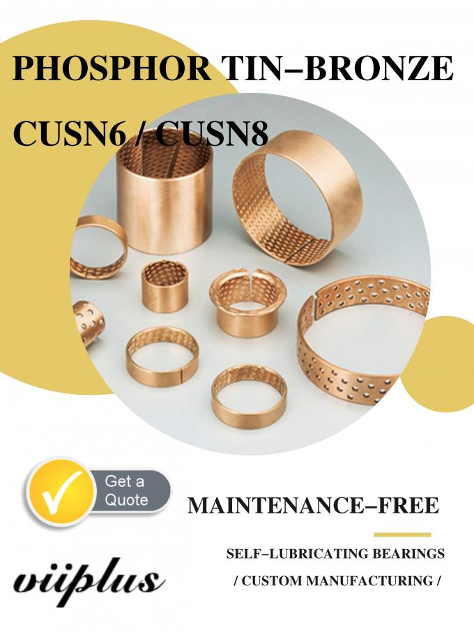 Bronze Wrapped Bushing Manufacture Process